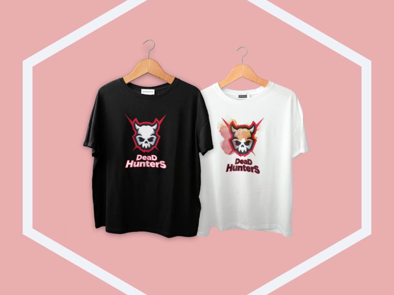 Team Tshirt esports esport team dead hunters tshirt design tshirt graphic design graphic branding logo