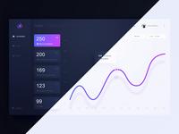 App for recruiters - Dark / Light mode animation