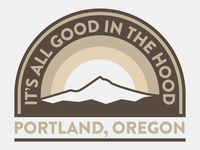 It's All Good In The Hood Badge