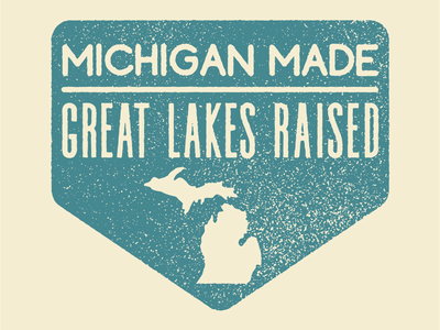 Michigan Sticker Design