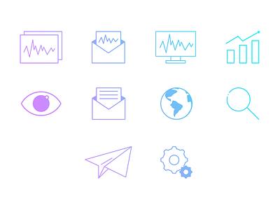 Icons - Monitoring app monitoring icons