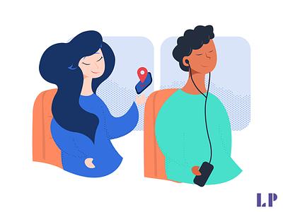 App Onboarding Illustration app design illustration