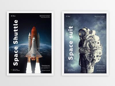 Planetarium Poster Frame