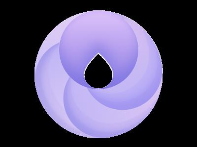 Purple O logo