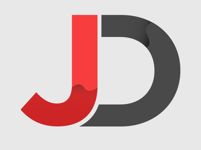 jd logo by alpesh jogia on dribbble jd logo by alpesh jogia on dribbble