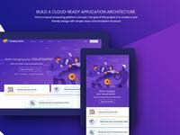 website for Cloud Computing