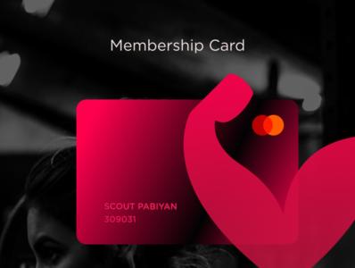 Membership Card for GYM or CLUB