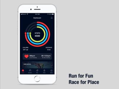 Marathon App Shot