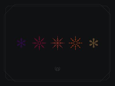 Happy Holidays holidays snowflakes