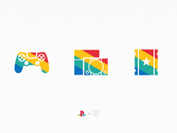 Playstation 20th Anniversary icons
