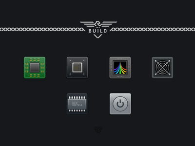 Icons for the Build