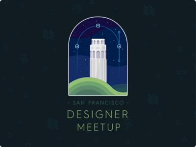 WWDC Designer Meetup tower coit francisco san meetup nylas details design sketch