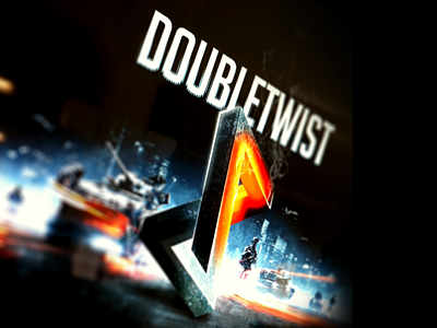 Above and beyond the call. bf3 inspired doubletwist design review slide keynote tealandorange