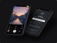 """Hey Siri, take a photo!"" halide icons icon ui onboarding camera iphone ios app shortcuts siri"
