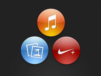 Nano Icons nano icons round psd resource icon bandwagon