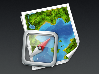 Timelapse icon quickie timelapse map compass