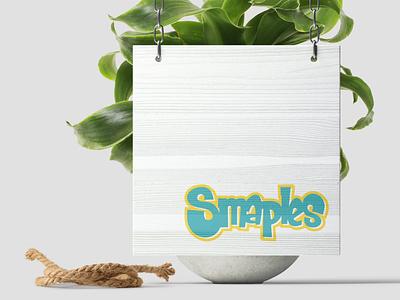 Brand Identity Project fro Smaples typography illustrator cc vector illustration logo design branding logo design
