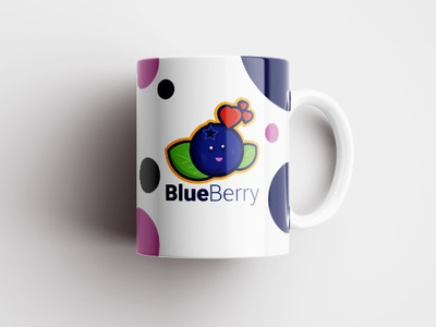 Blueberry Design designer logoinspiration mascot flatdesign graphicdesign branding vector illustrator cc logodesign illustration design logo