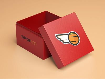 Sports Heaven Logo typography branding vector logodesign