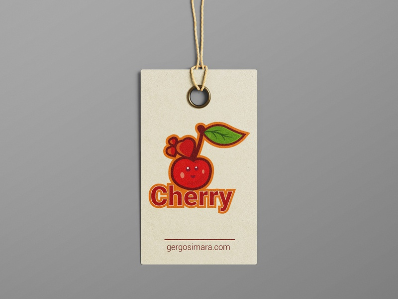 Cherry Design adobe graphic designer mascot typography flatdesign illustrator cc illustration vector graphicdesign design