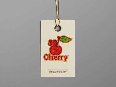 Cherry Design adobe graphic designer mascot typography flatdesign illustrator cc illustration vector graphicdesign design