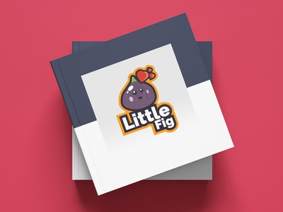 Little Fig adobe logoinspiration logo typography mascot flatdesign designer illustrator cc illustration graphicdesign vector design