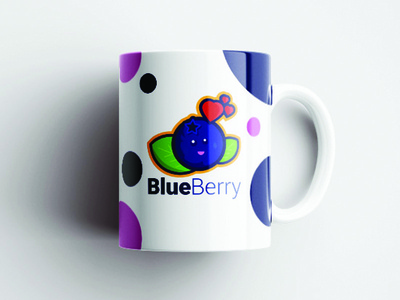 Little BlueBerry mascot flatdesign designer adobe illustrator cc illustration graphicdesign vector design