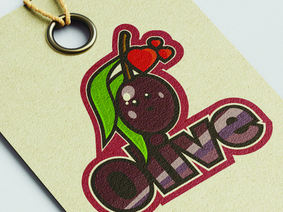 Little Olive mascot flatdesign designer illustrator cc illustration graphicdesign vector design