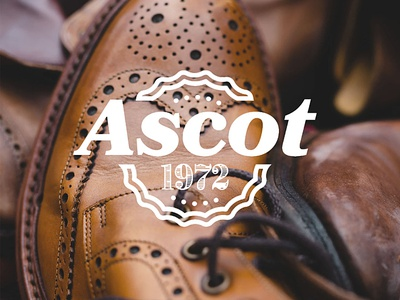 Ascot 1972 Logo Design typography flatdesign logodesign branding illustrator cc logo vector graphicdesign design