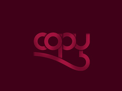 Copy For Dribbble