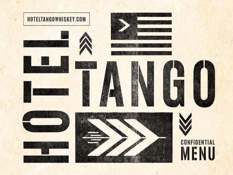 Bar + Distillery Menu Branding arrow type illustraion menu texture design branding