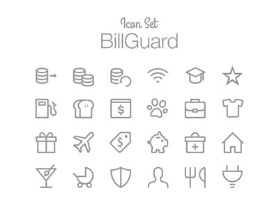 Billguard Icons icons