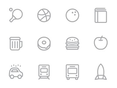 Icons icons illustration