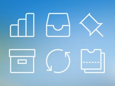 BillGuard menu icons icons illustration ui