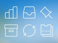 BillGuard menu icons