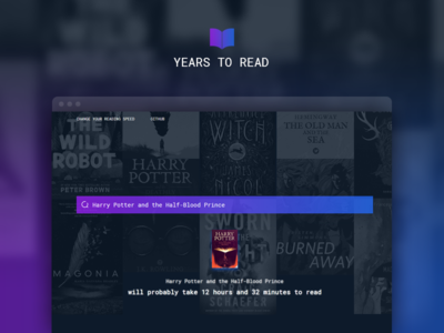 Years To Read