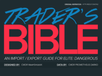 [Infographic] Elite: Dangerous - Space Trader's Bible