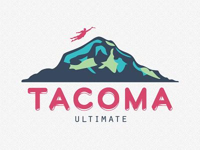 Tacoma Ultimate tacoma ultimate frisbee mountain logo