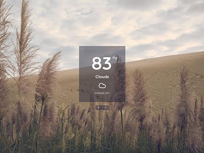 Weather or Not freecodecamp freegeoip openweathermap api weather jquery javascript app desktop