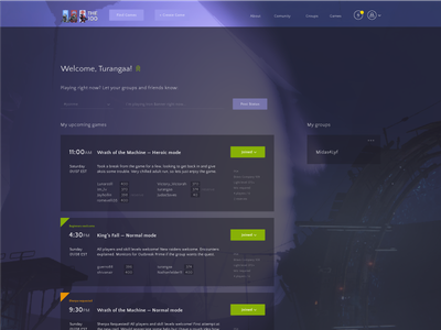 Redesign: the100.io  100.io the100.io destiny redesign wip icon web ux ui