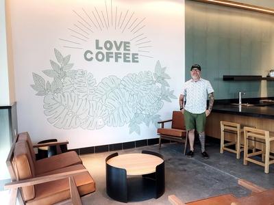 Starbucks   Wall Art   Lakeland Fl