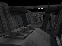 Star Killer Base - Rough Lighting/Textures
