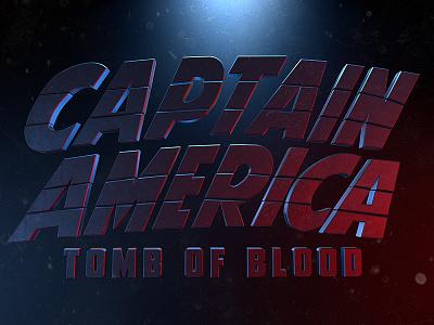 Captain America: Tomb Of Blood cinema render 3d america captain avengers marvel