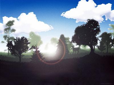 forest иллюстрация иллюстратор вектор forest