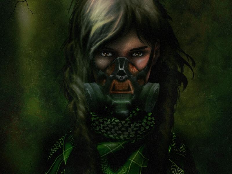 stalker фотошоп игра девушка survarium