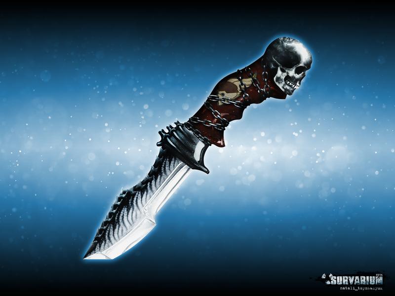 Gangster knife фотошоп игра иллюстрация survarium knife