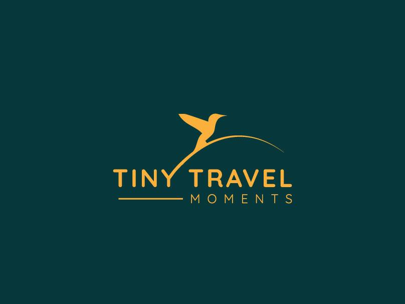 TINY TRAVEL MOMENTS logo design branding logotypes logosai logotype logotype design brand designer logotype designer logo designer