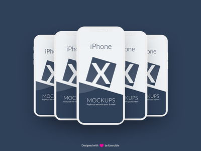 Free Iphone X Mockup By Usercible usercible apple iphone psd iphone x mockup iphone