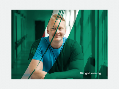 PenSam Exploration - Initial visual language banners elements moodboard explore explortation pension