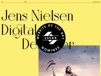 Thinkbear.net - site of the day nominee css design awards site of the day